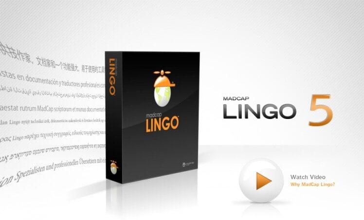 MadCap Lingo Version 5.0