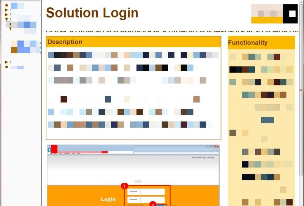 Solution Login