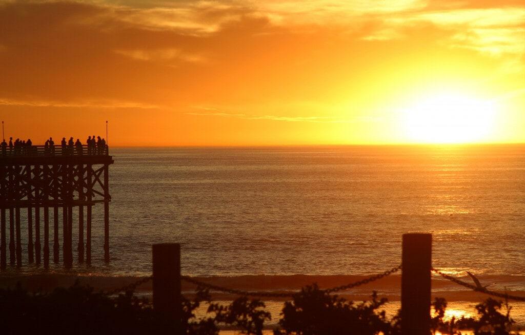 Pacific Beach Sunset -Courtesy Joanne DiBona SanDiego.org