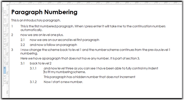 auto numbering part 12