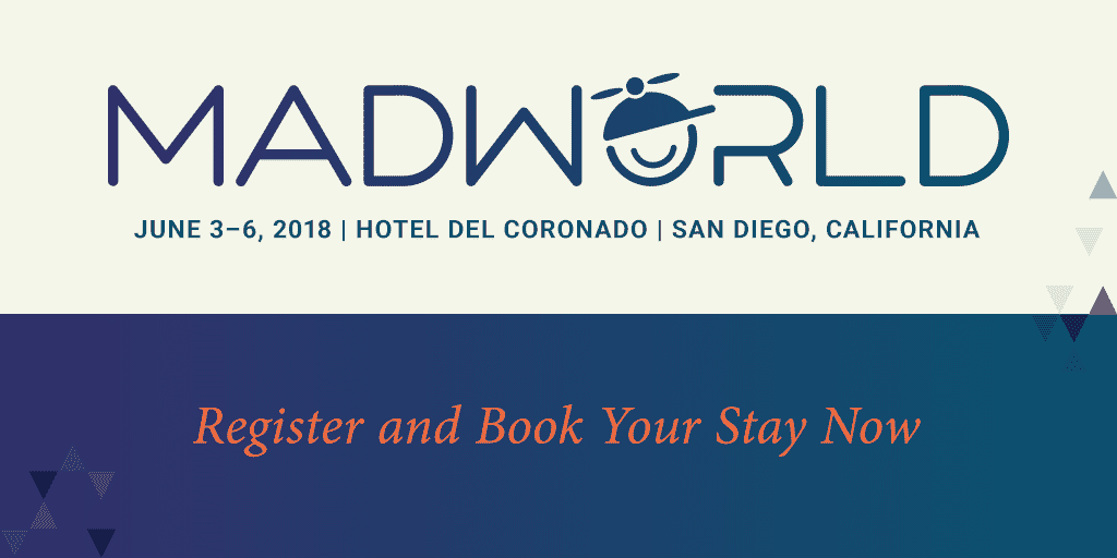 MadWorld 2018 Banner - Book Your Stay