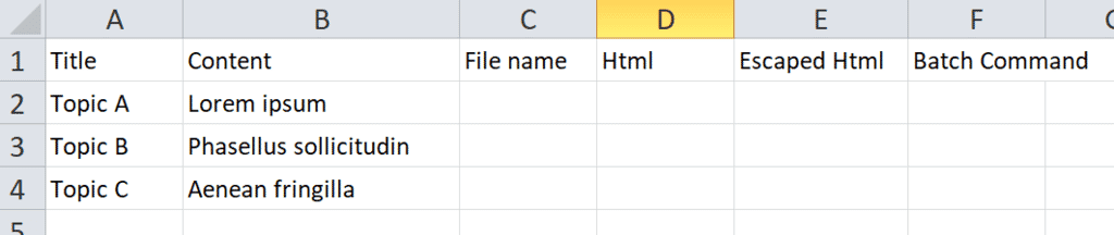 import excel data 02