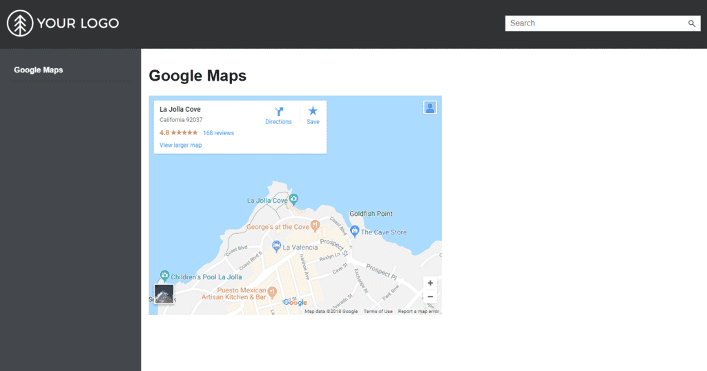 How to Embed Google Maps in a MadCap Flare Topic Insert Google Map Into Website on bing maps website, apple maps website, gmail website, ebay website, social media website, social networking website, mapquest maps website, animation website, expedia website, pinterest website,