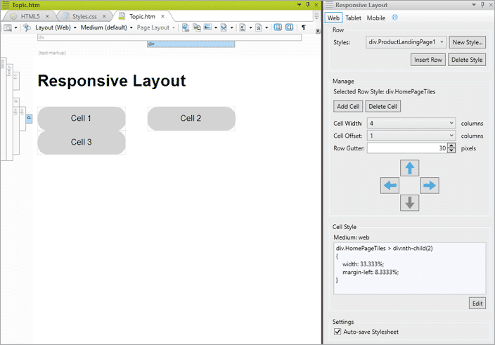 How to Customize Your Responsive Outputs with MadCap Flare's Responsive Layout Window
