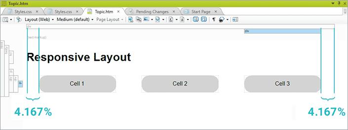 responsive layout window 11