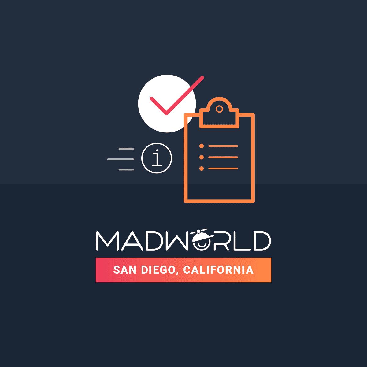 MadWorld 2019 San Diego takes place on April 14-17, 2019.