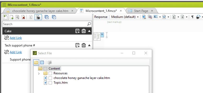 madcap flare micro content example