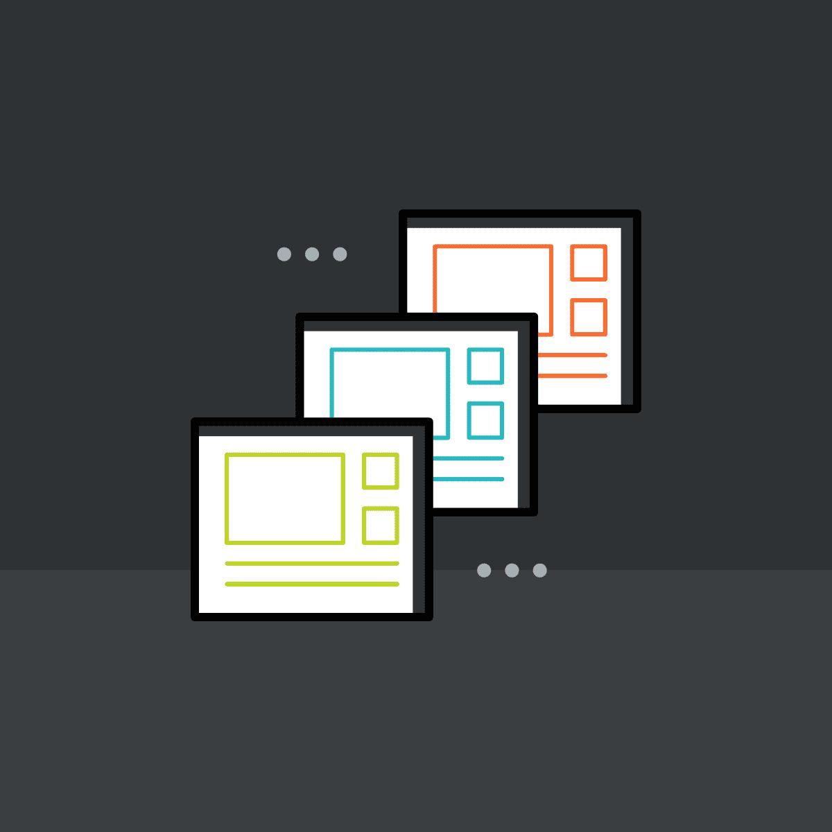 HTML5 top navigation templates