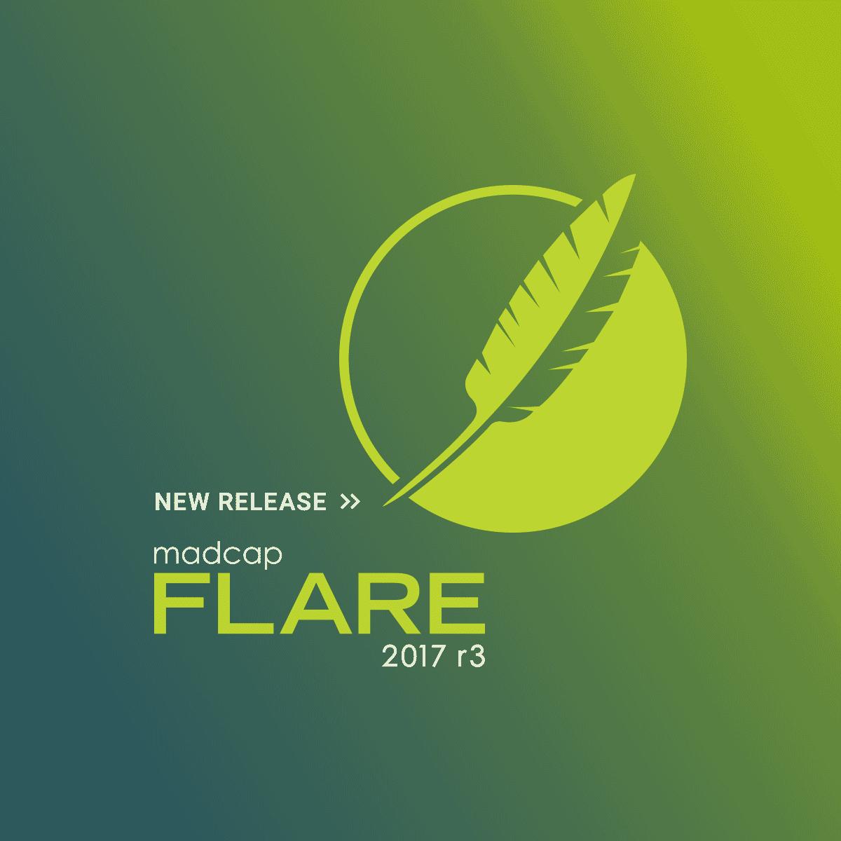 madcap flare 2017 r3 release
