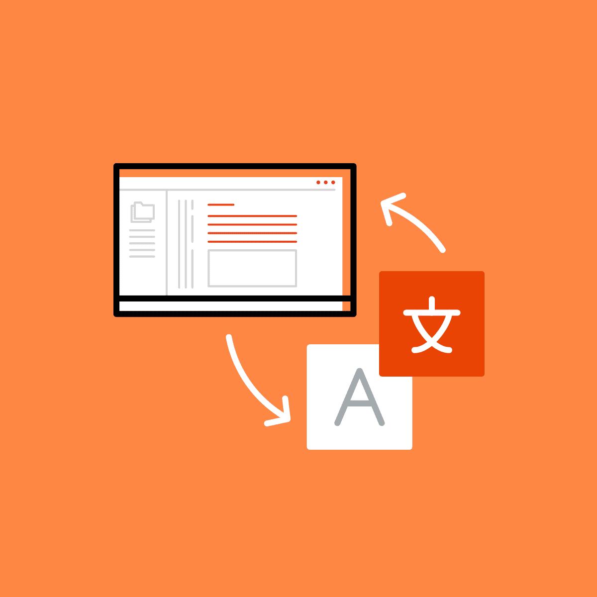 translating documentation and UI