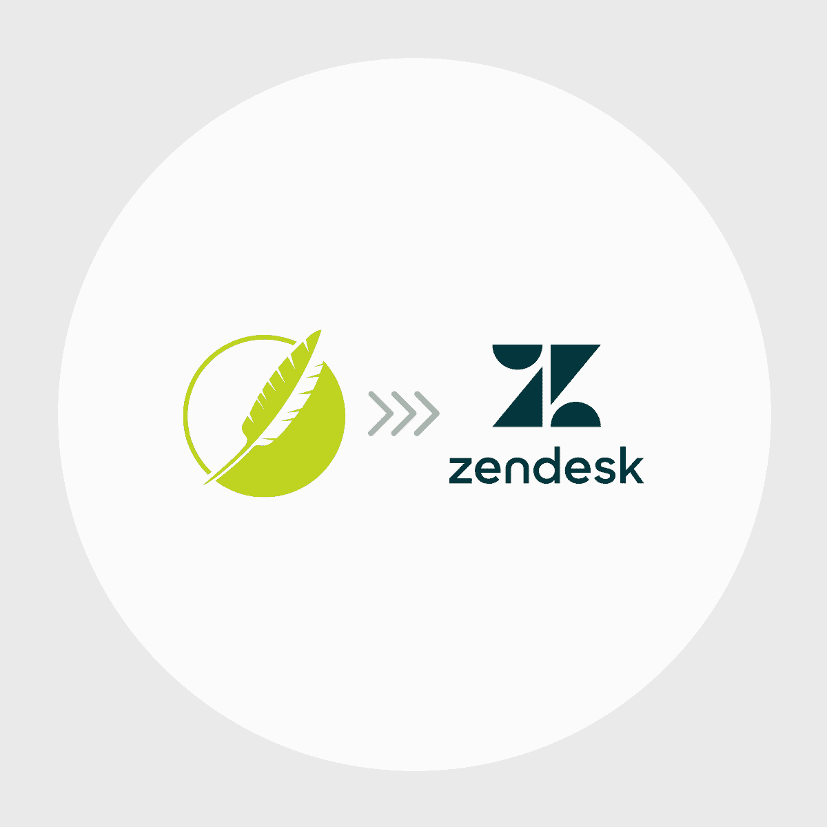Flare to Zendesk Icon