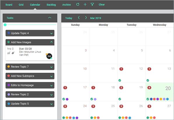 Central 2019 Calendar Updates