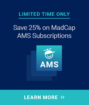 Save 25% on MadCap AMS