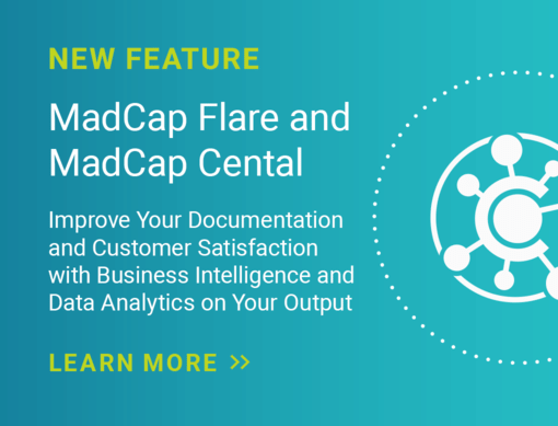 MadCap Central New Feature Banner