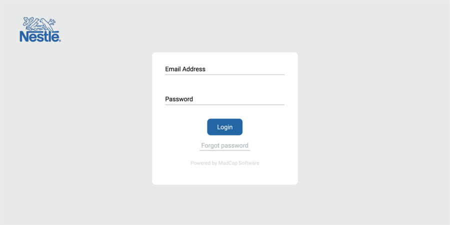 Password Protected Banner