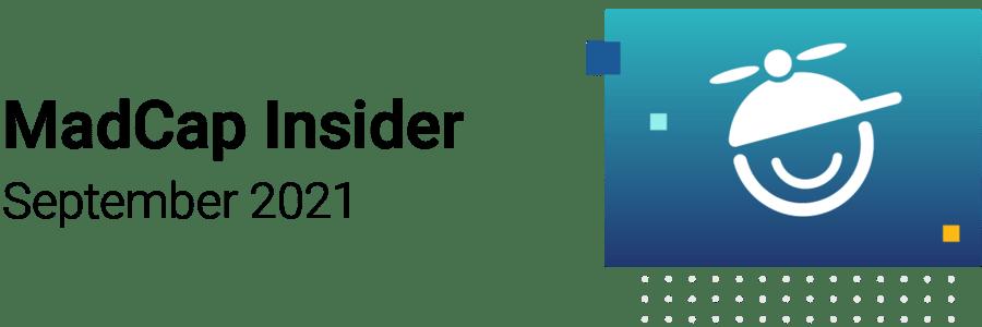 MadCap Insider - September 2021 Banner