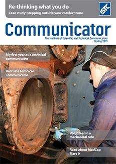 Communicator Spring 2013 cover