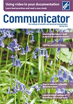 Communicator Spring 2014 Magazine Cover
