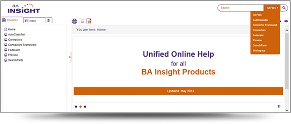 BA Insight uses MadCap Flare for Online, PDF and Slide Outputs