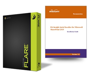BA Insight Logo and MadCap Flare