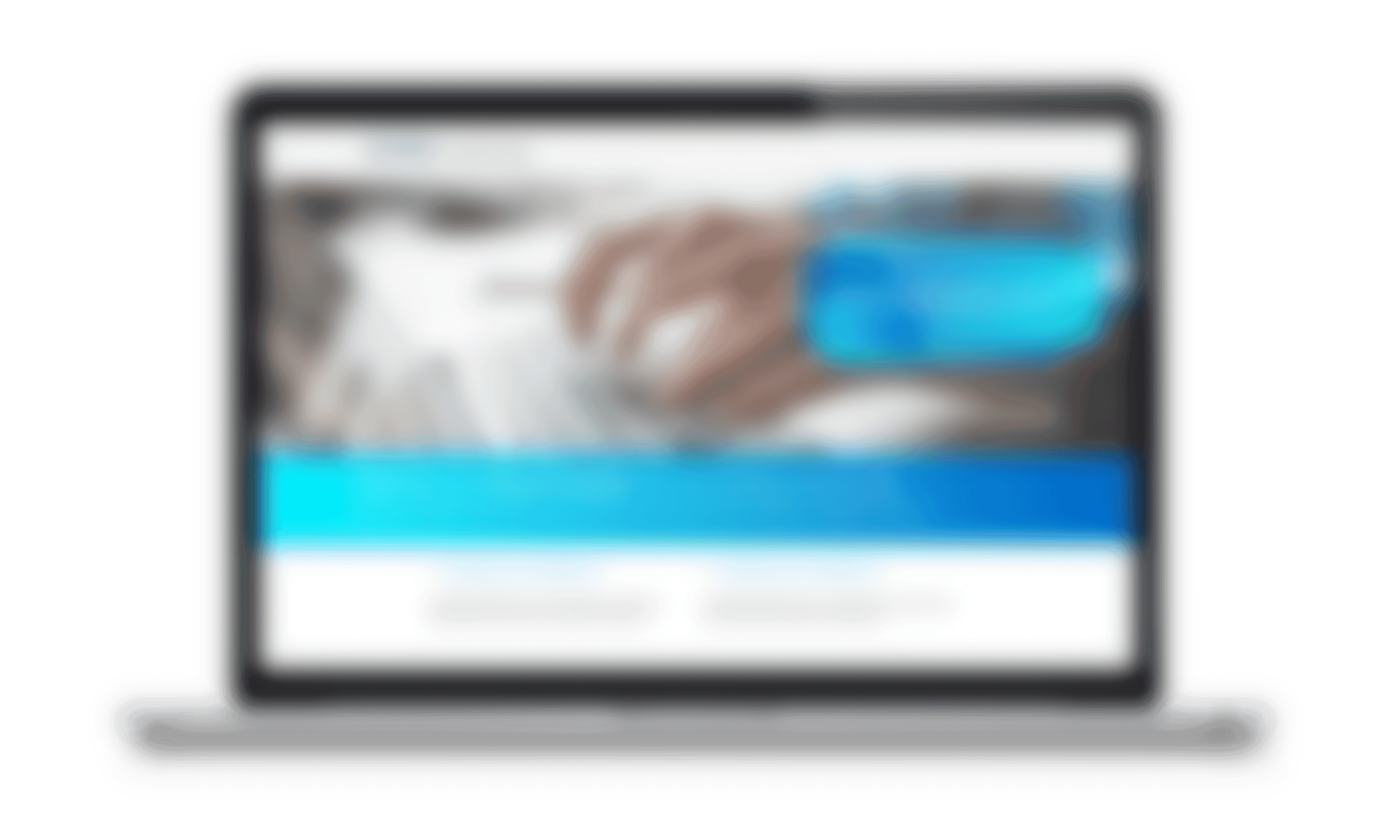 Avaloq Webhelp on laptop