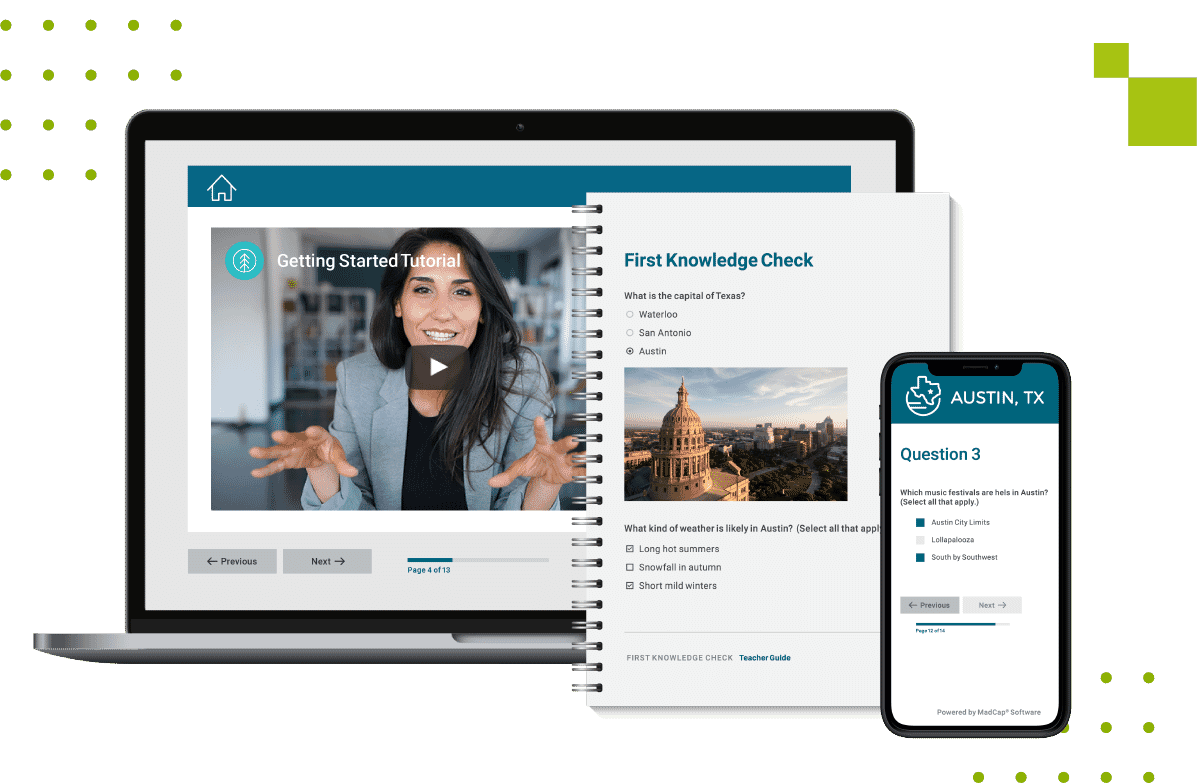 eLearning Outputs