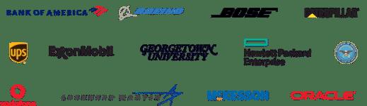 MadCap Software Customer Logos