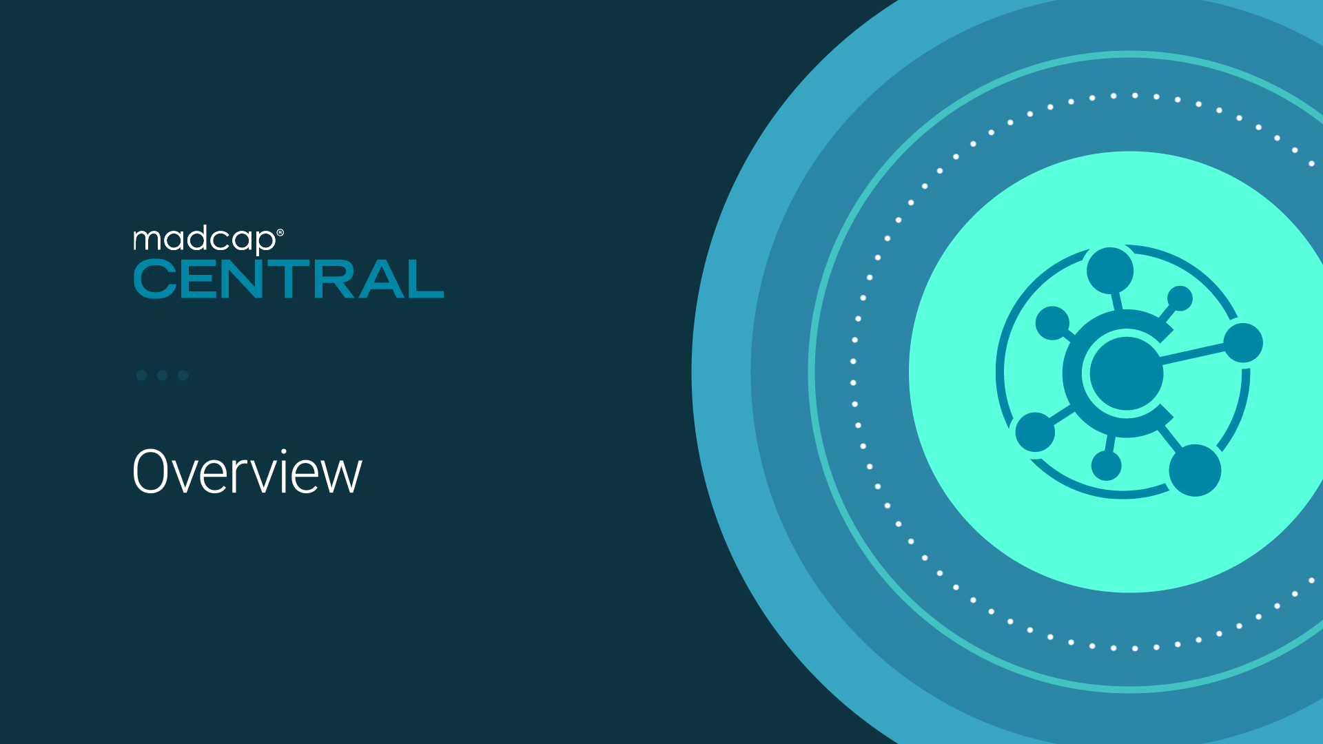 Product Demo: An Overview of MadCap Central