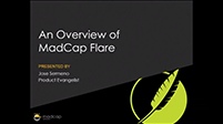 Official Webinar: An Overview of MadCap Flare
