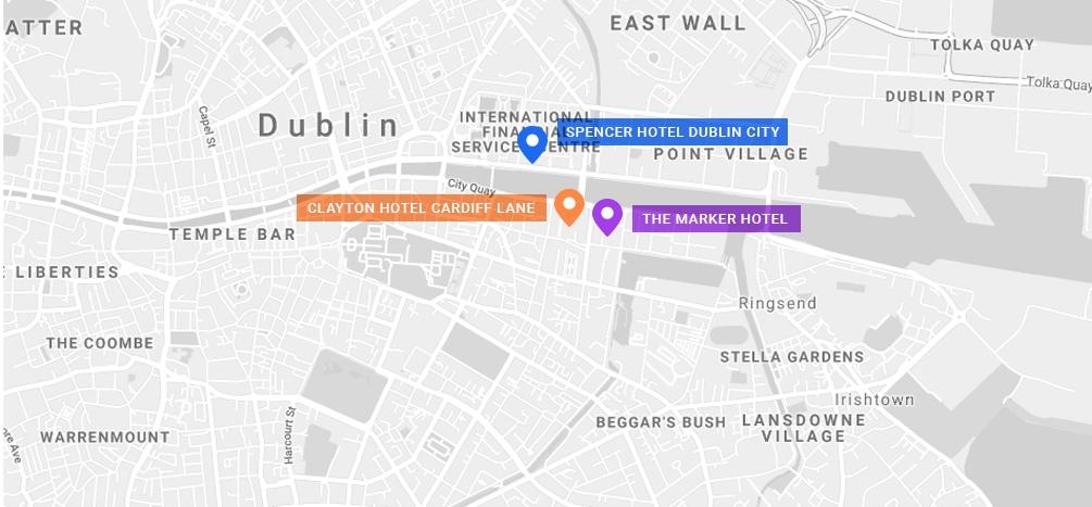 MadWorld 2019 Dublin: Conference Location on