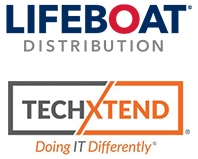 TechXtend and Lifeboat Distribution logos