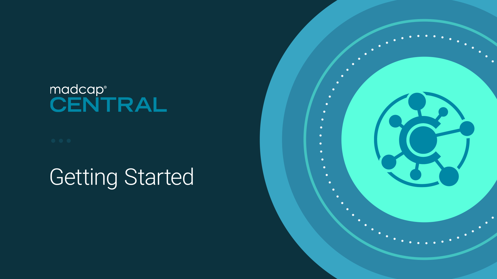 Video: Getting Started with MadCap Central