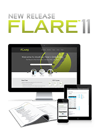 Illustration of MadCap Flare 11 Outputs