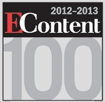 2012-2013 EContent 100 Award Winner